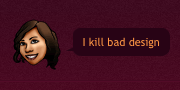 Custom avatar adds personality