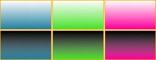 Example of PNG gradient used as a background