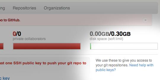 Github links to instructions for creating SSH keys