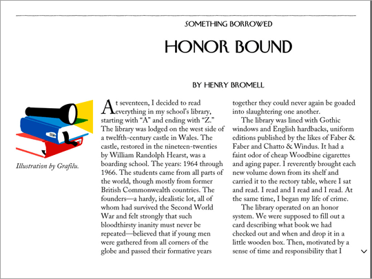The New Yorker app: Swipe up to continue reading this article.