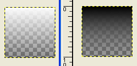 Two transparent blends (white-to-transparent and black-to-transparent)