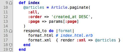 Ruby on Rails Syntax