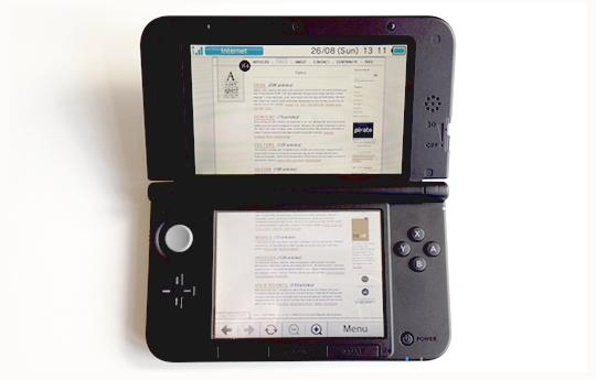 The Nintendo 3DSXL