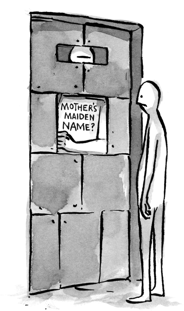 The Problem with Passwords