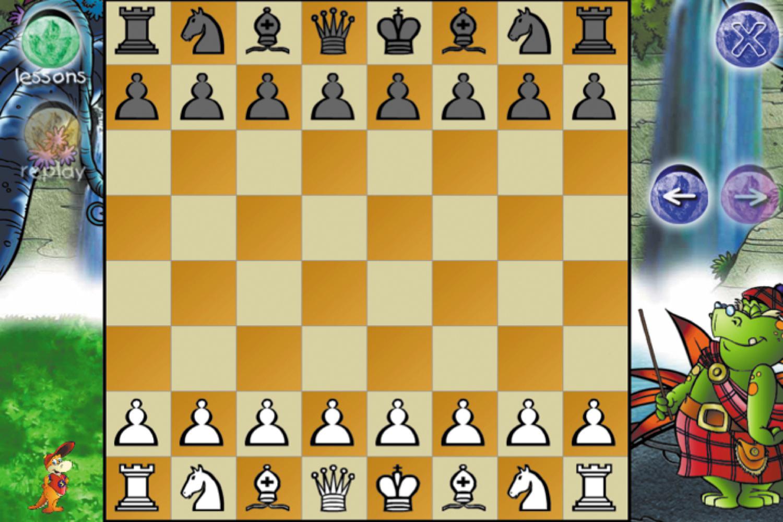 Screenshot of a chess game