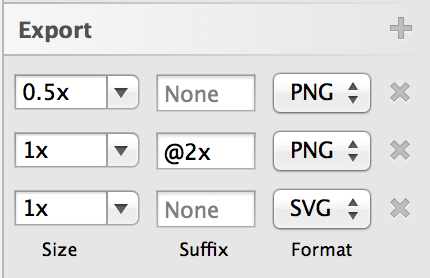 Sketch Export Rules