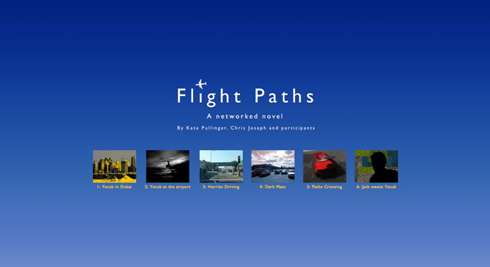 Screenshot from the Flight Paths site.