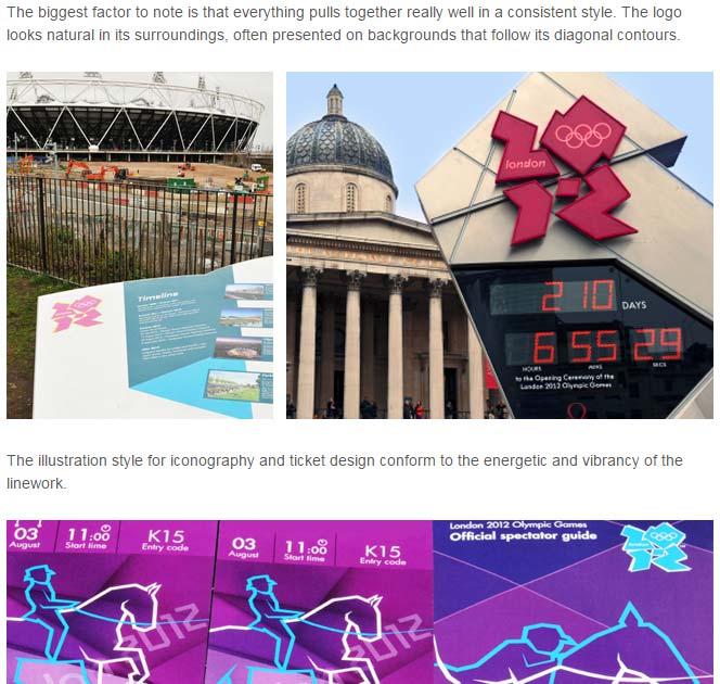 Analysis of 2012 London Olympics logo