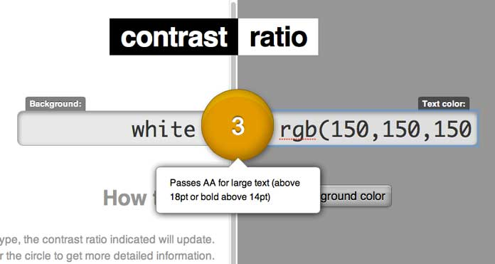 Lea Verou's Contrast Ratio checker.