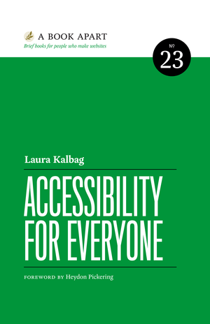 Cover from Accessibility for Everyone
