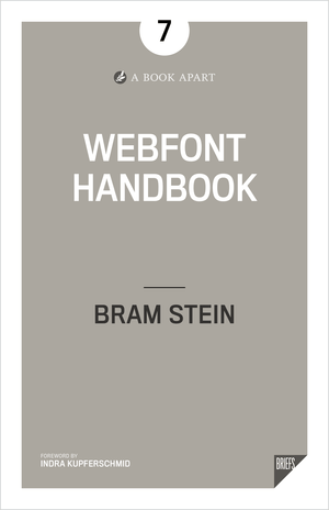 Cover from Webfont Handbook