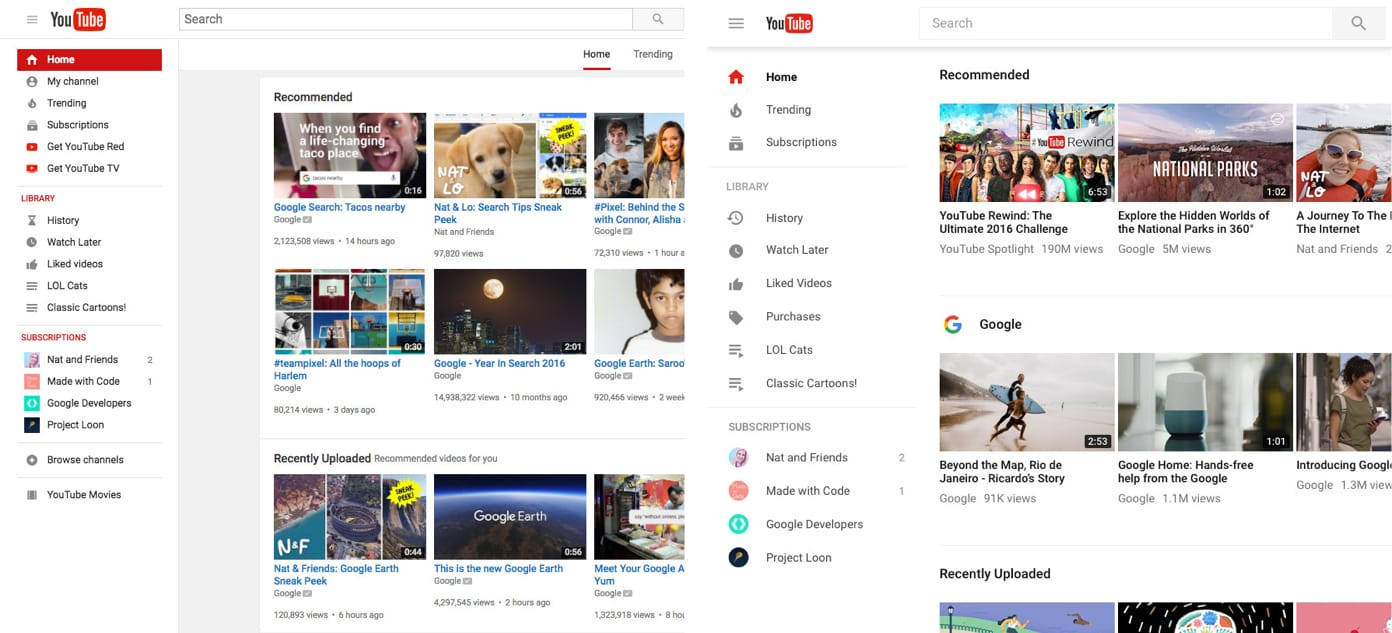 By contrast to Snapchat, Google allowed users to explore and test YouTube's redesign ahead of time which lead to a more successful launch.