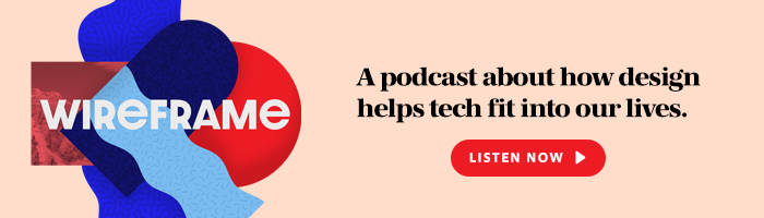 Wireframe podcast banner